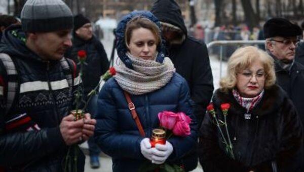 Moskwa żegna Borysa Niemcowa - Sputnik Polska