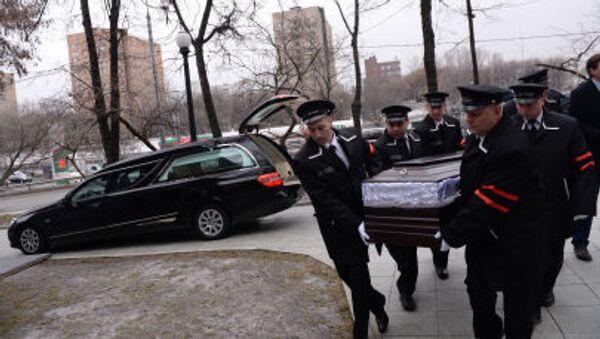 Ostatnie pożegnanie Borysa Niemcowa - Sputnik Polska