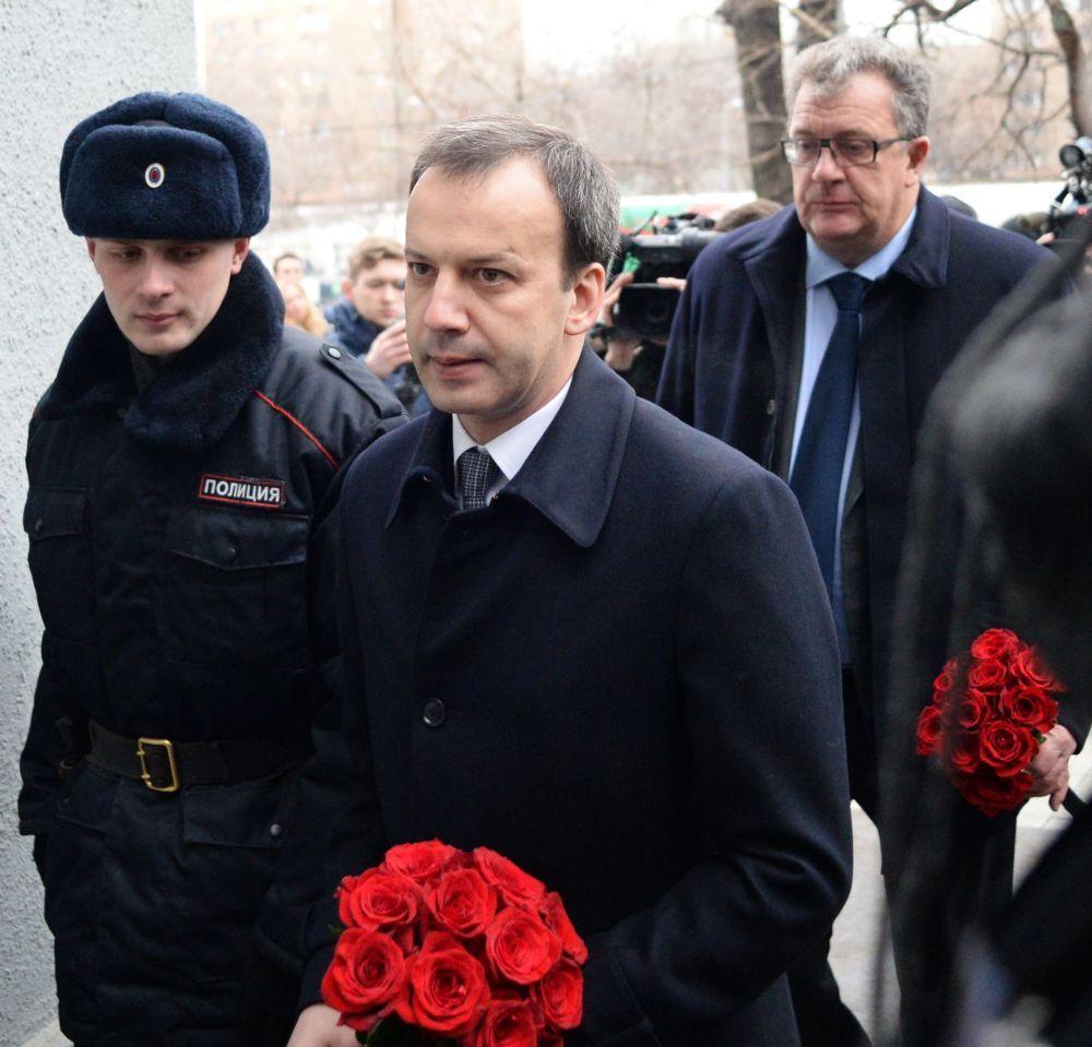 Wicepremier rządu RF Arkadij Dworkowicz