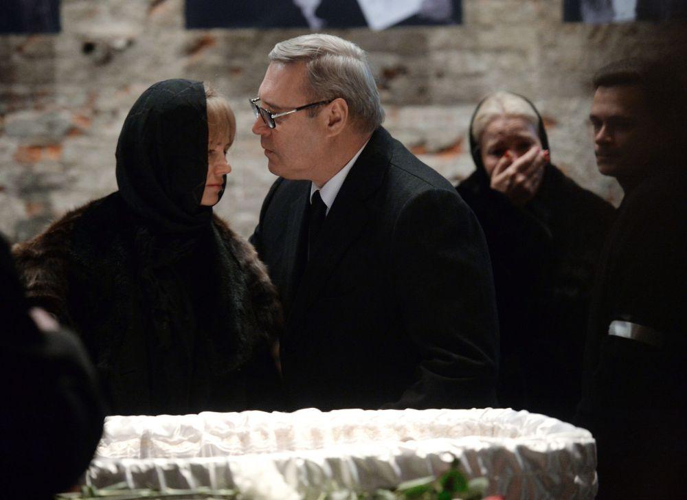 Współprzewodniczący Republikańskiej Partii Rosji Michaił Kasjanow