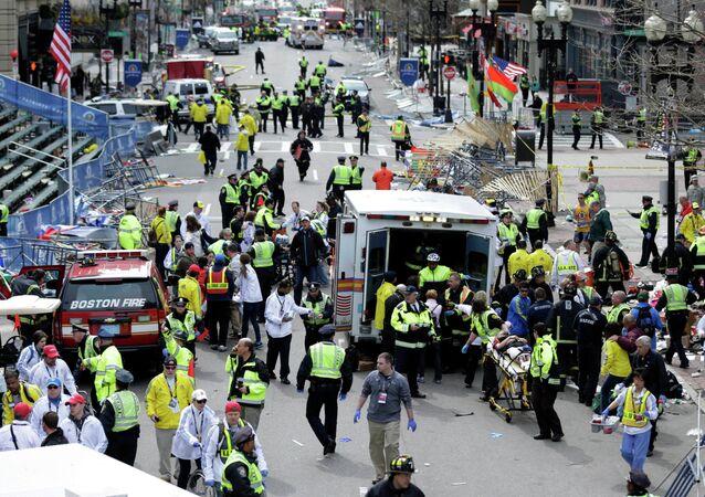 Maraton w Bostonie, kwiecień 2013 roku