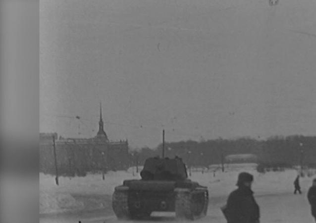 Najdłuższa i najcięższa: Bitwa o Leningrad – wideo archiwalne