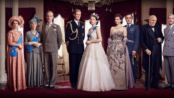 Kadr z serialu The Crown. - Sputnik Polska