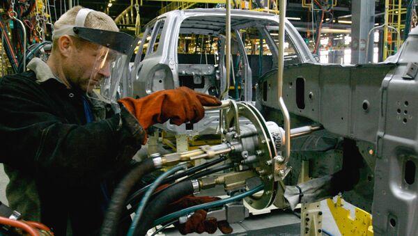 Praca w fabryce - Sputnik Polska
