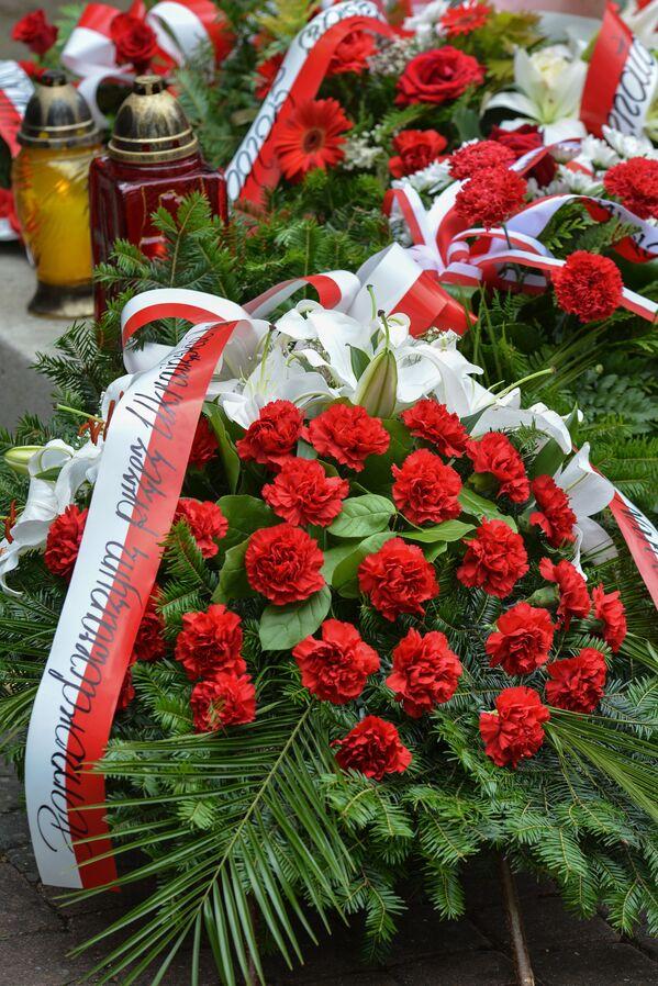 Marsz upamiętniający ofiary masakry na Wołyniu w Polsce, 2016 rok  - Sputnik Polska