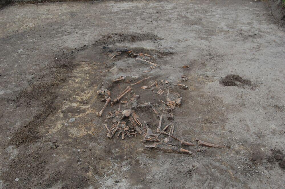 Wola Ostrowiecka, ekshumacja szczątków ofiar rzezi wołyńskiej