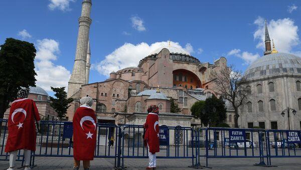 Hagia Sophia w Stambule.  - Sputnik Polska
