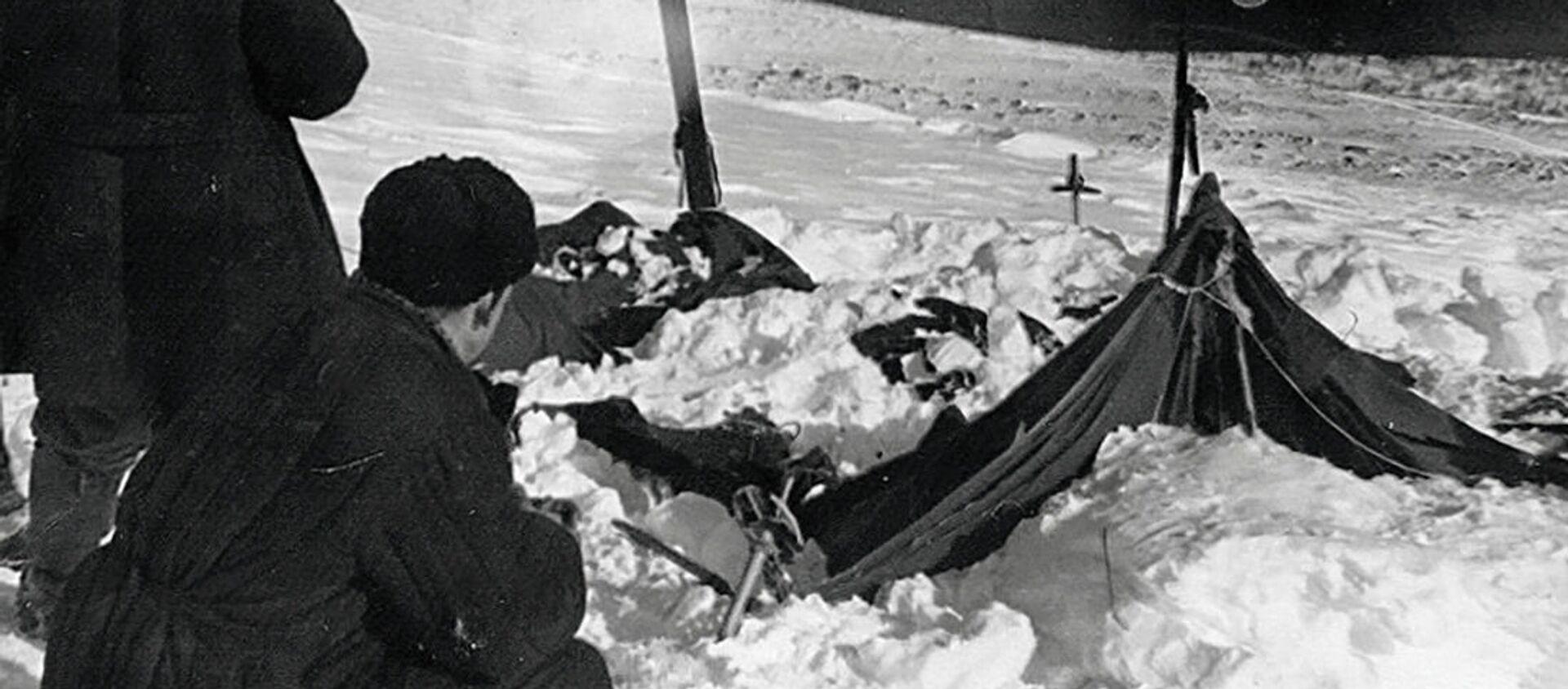 Przyczyną śmierci turystów na Przełęczy Diatłowa na Uralu Północnym w 1959 r. była lawina śnieżna. - Sputnik Polska, 1920, 12.07.2020