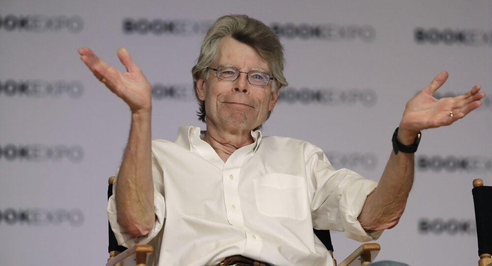 Amerykański pisarz Stephen King