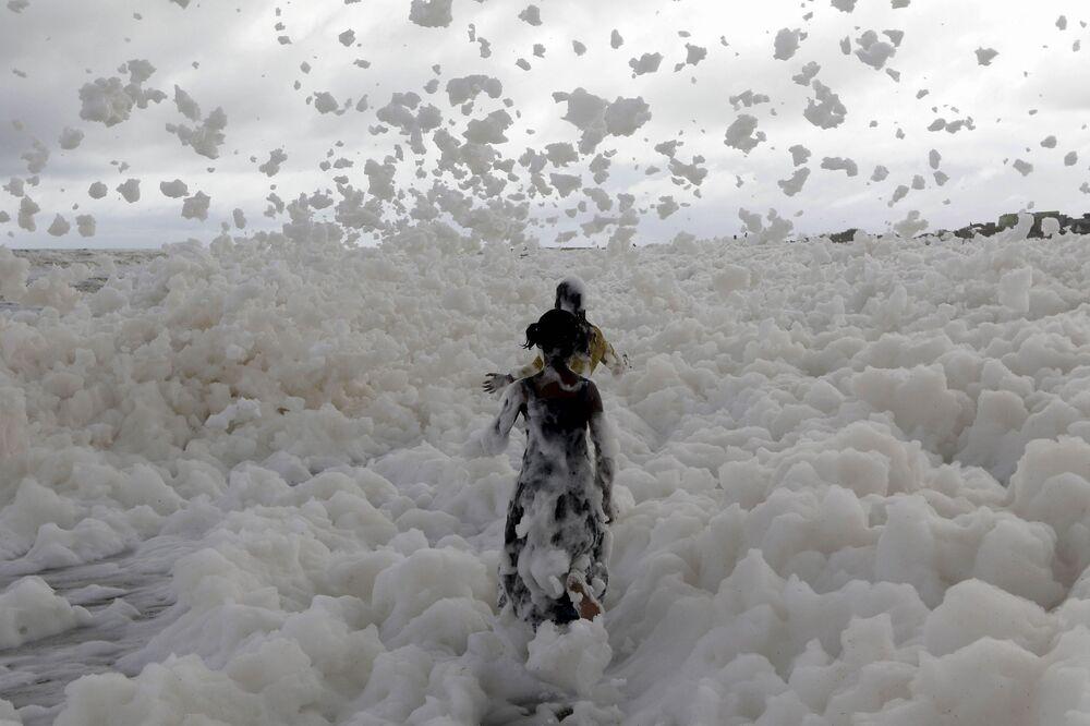 Na plaży w Indiach