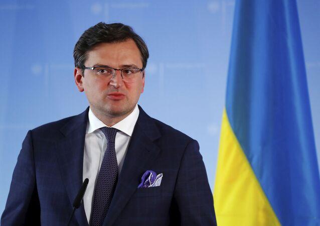 Minister spraw zagranicznych Ukrainy Dmytro Kuleba