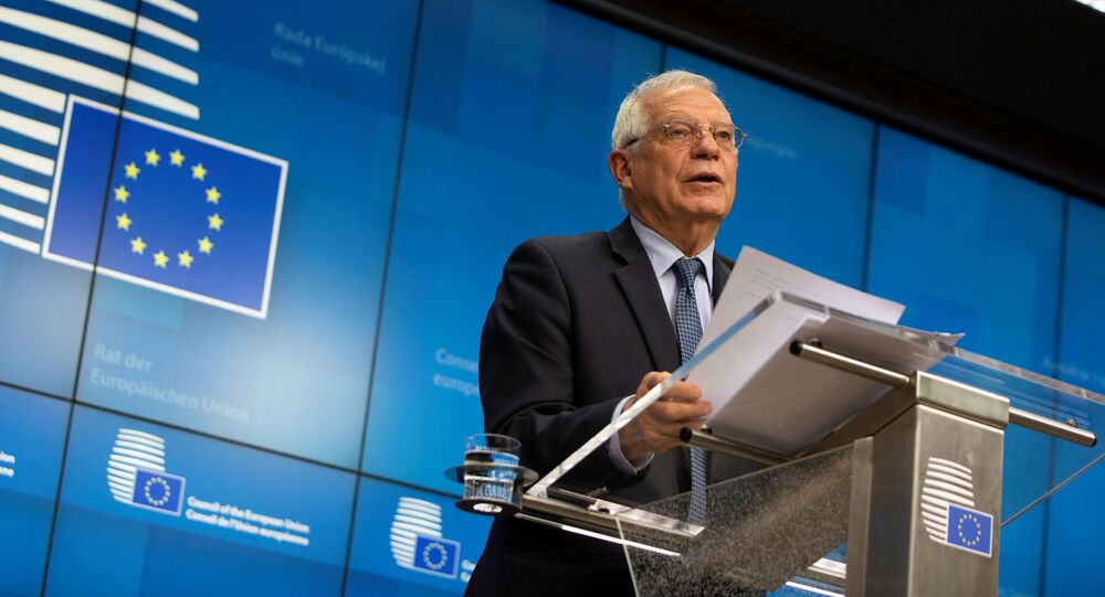 Szef unijnej dyplomacji Josep Borrell