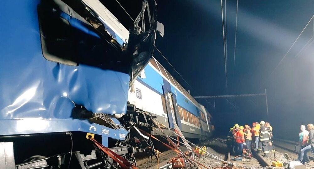 Wypadek kolejowy w Czechach