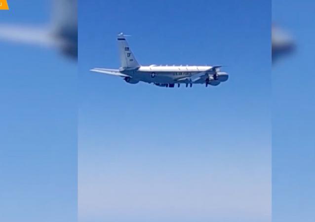 Amerykański samolot RC-135