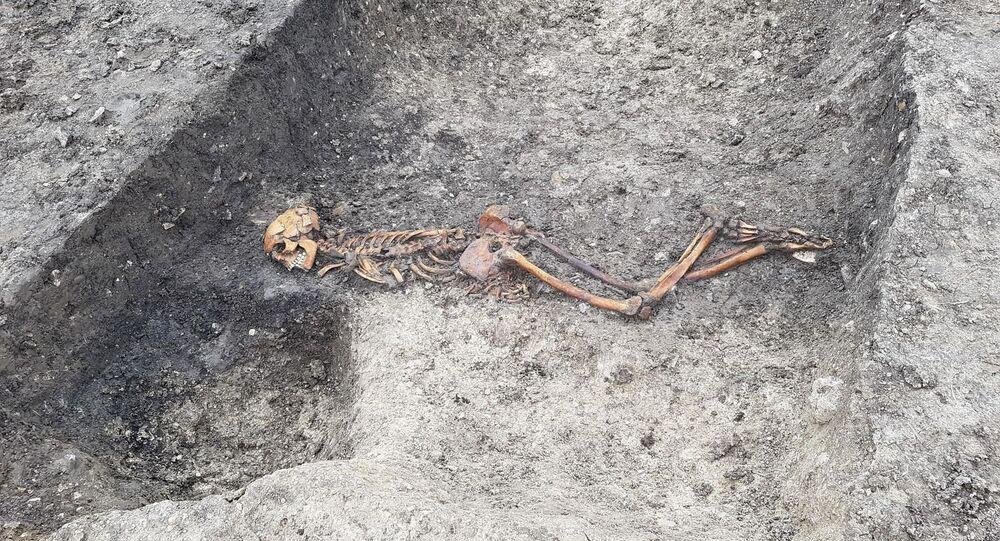 Szczątki ofiary zagadkowego zabójstwa sprzed dwóch tysięct lat