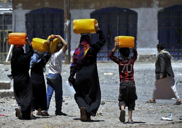 Mieszkańcy Jemenu