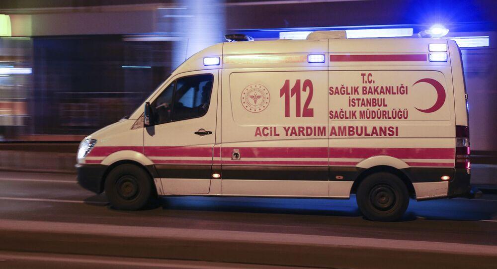 Karetka pogotowia w Turcji