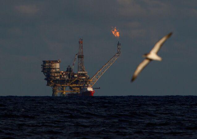 Platforma naftowa u wybrzeży Libii