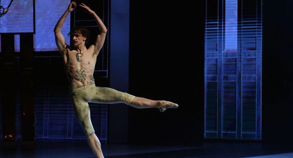 Artysta baletowy Siergiej Polunin, Teatr Bolszoj