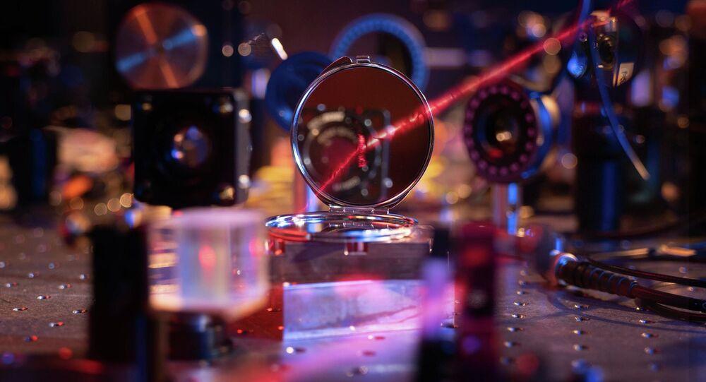 Najlżejsze lustro na świecie złożone z dwustu atomów
