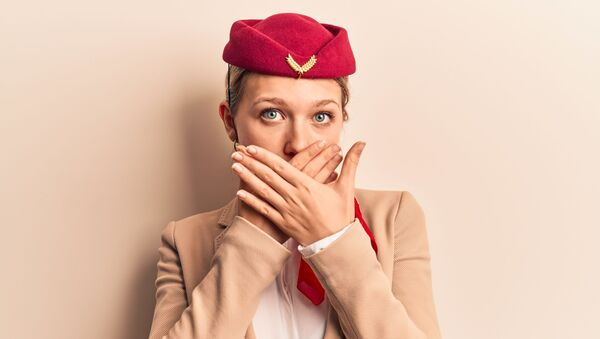 Stewardessa. - Sputnik Polska
