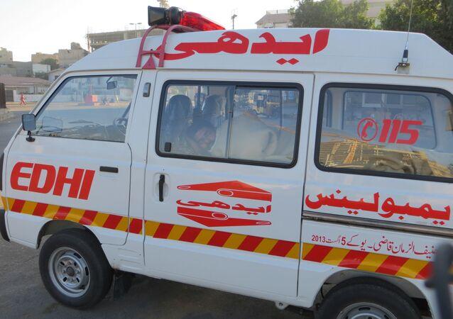 Pogotowie w Pakistanie