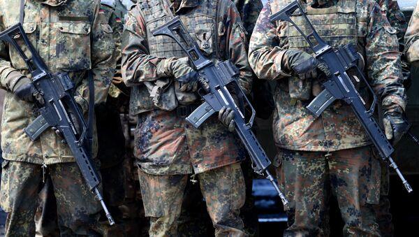 Żołnierze Bundeswehry - Sputnik Polska