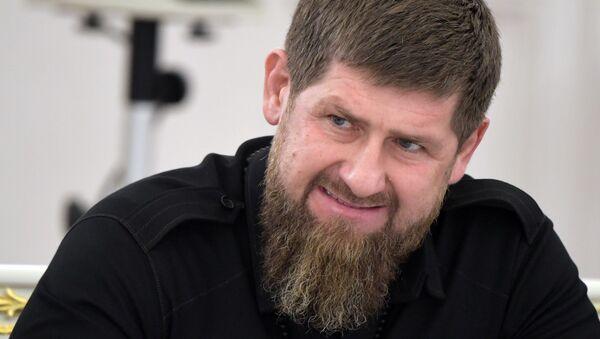 Szef Czeczenii Ramzan Kadyrow. - Sputnik Polska