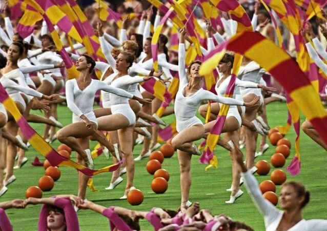 Ceremonia otwarcia Olimpiady 80 w Moskwie