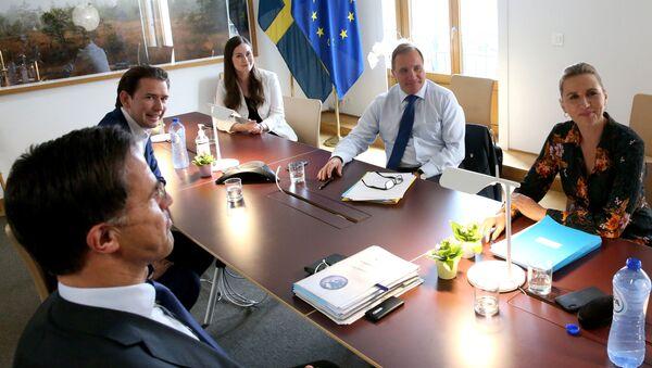Szczyt UE w Brukseli - Sputnik Polska