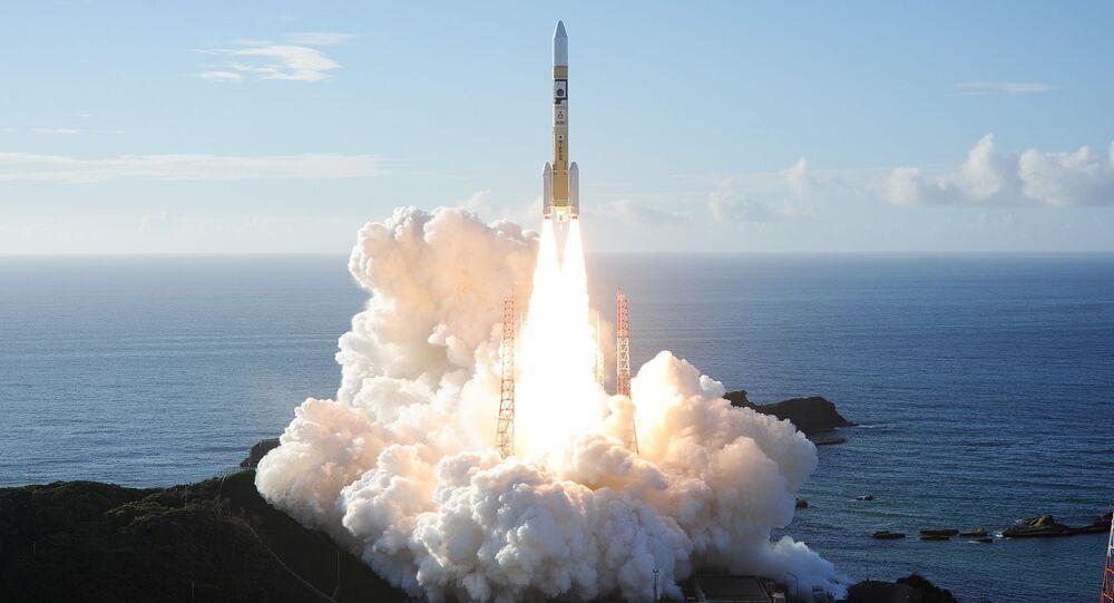 Start rakiety H-IIA z sondą kosmiczną Al Amal