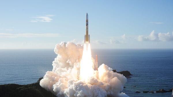 Start rakiety H-IIA z sondą kosmiczną Al Amal - Sputnik Polska