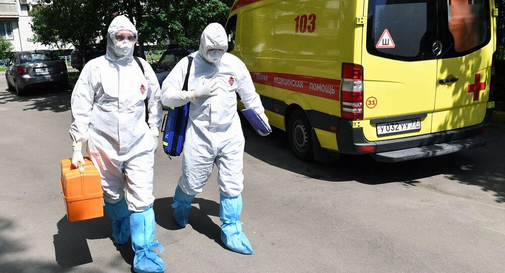Epidemia koronawirusa w Rosji