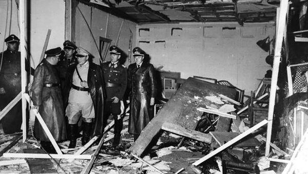 20 lipca 1944 grupa spiskowców z Clausem von Stauffenbergiem na czele dokonała w Wilczym Szańcu nieudanego zamachu na życie Hitlera - Sputnik Polska
