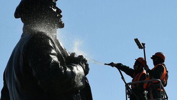 Pomnik Lenina w Krasnojarsku - Sputnik Polska