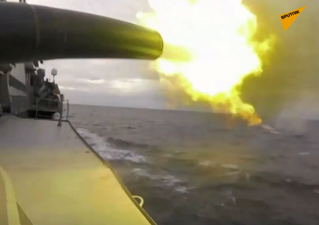 Sprawdzenie gotowości bojowej Floty Czarnomorskiej na Krymie