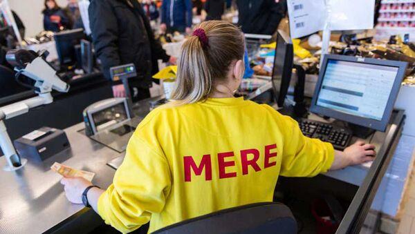 Jeden z supermarketów Mere - Sputnik Polska