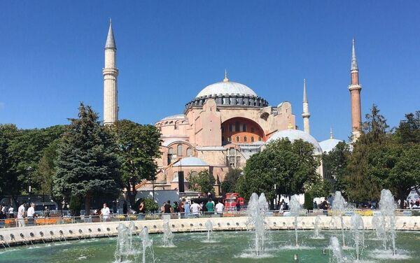 Hagia Sophia: pierwsze od 86 lat modlitwy muzułmańskie - Sputnik Polska