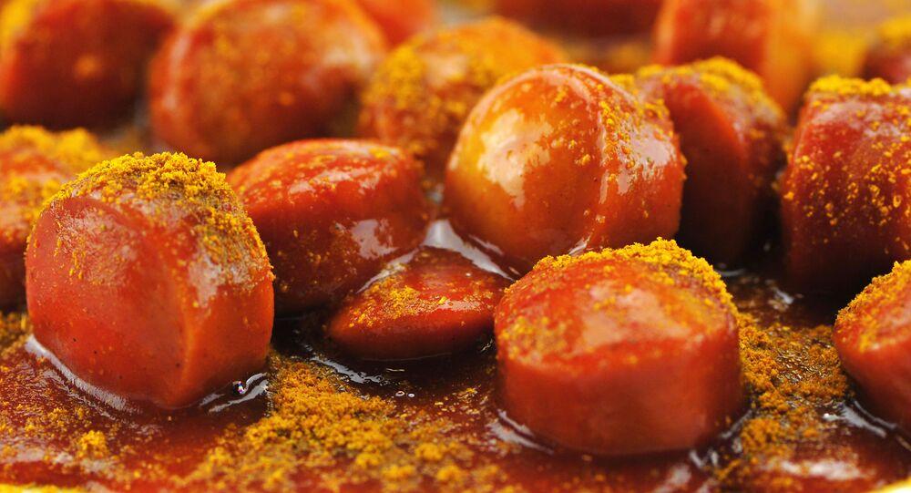 Kiełbaski curry