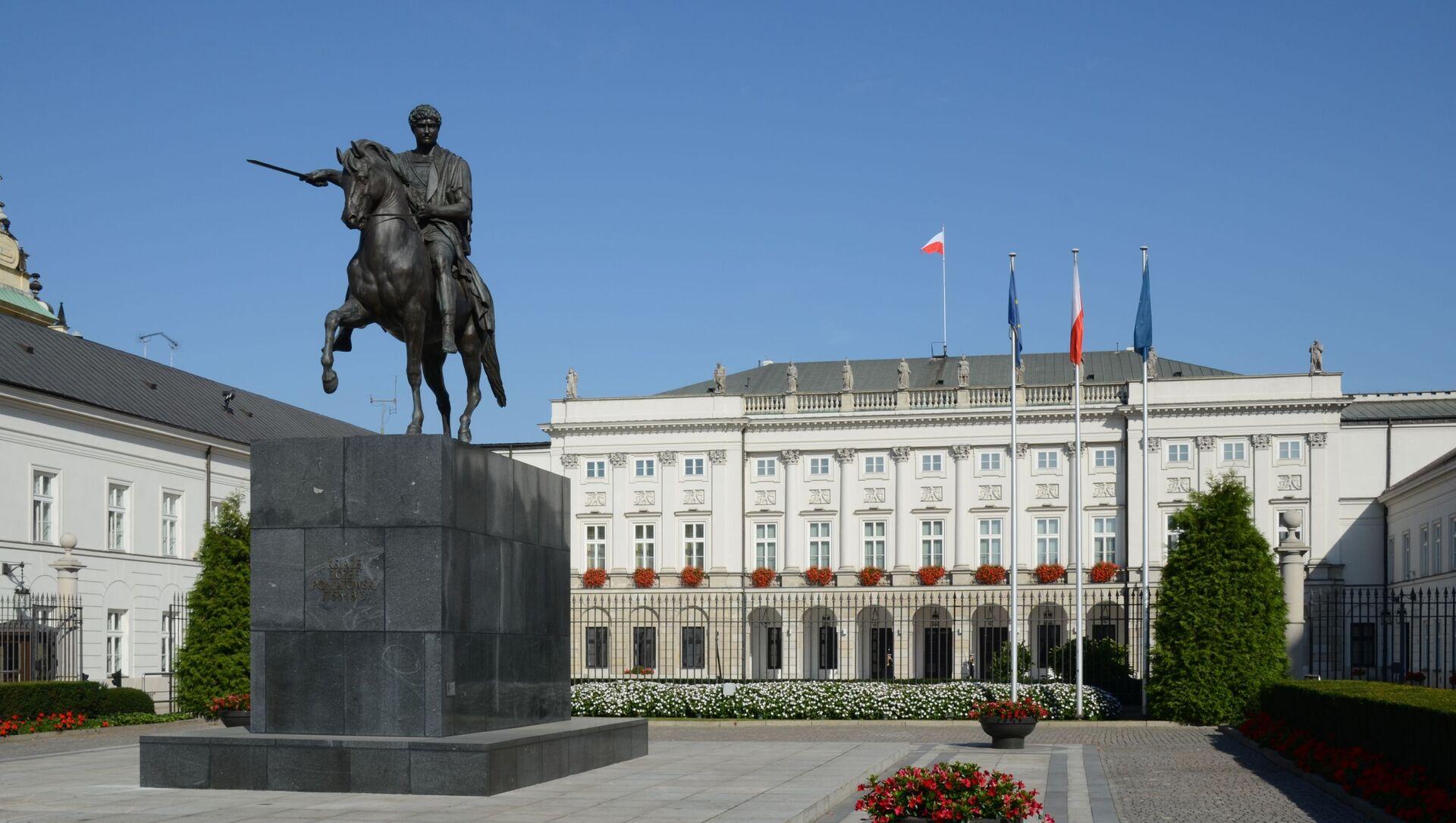 Pałac Prezydencki w Warszawie - Sputnik Polska, 1920, 11.04.2021