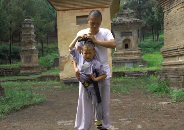 Chłopiec z klasztoru Szaolin