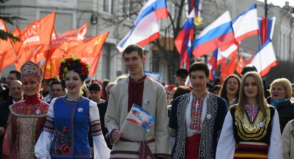 Obchody rocznicy przyłączenia Krymu do Rosji