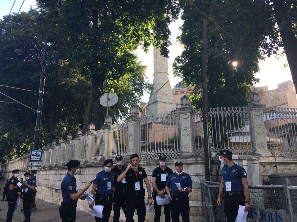 Pierwsze od 86 lat modlitwy muzułmańskie w Hagia Sophia