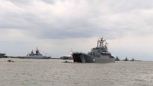 Dzień Marynarki Wojennej w Bałtyjsku - Sputnik Polska