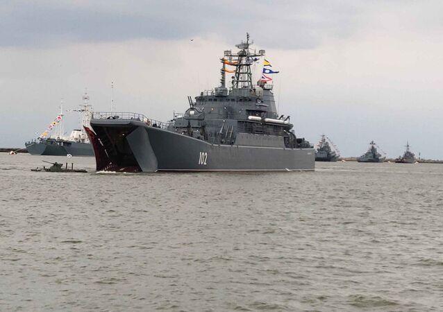 Dzień Marynarki Wojennej w Bałtyjsku