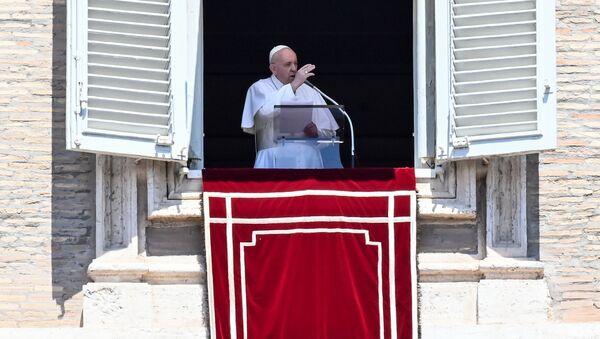 Papież Franciszek. - Sputnik Polska