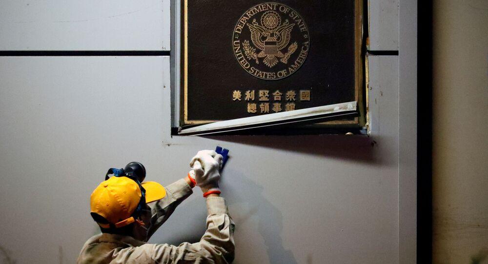 Zamknięcie amerykańskiego konsulatu w Chengdu