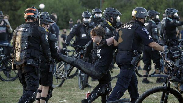 Protesty w Seattle - Sputnik Polska