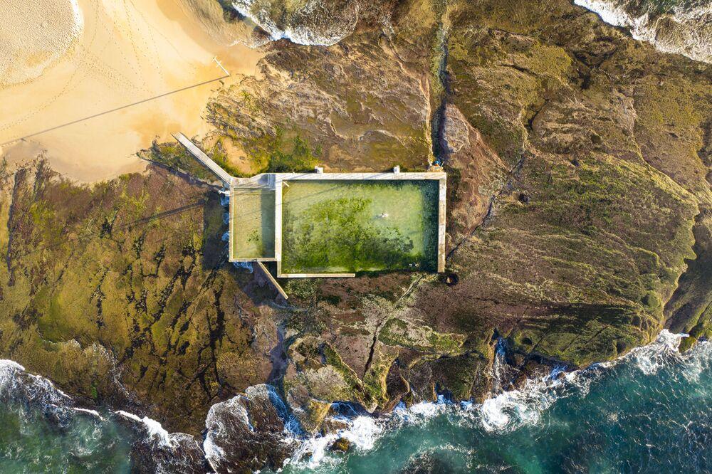 Basen pod otwartym niebiem w Australii, Mona Vale