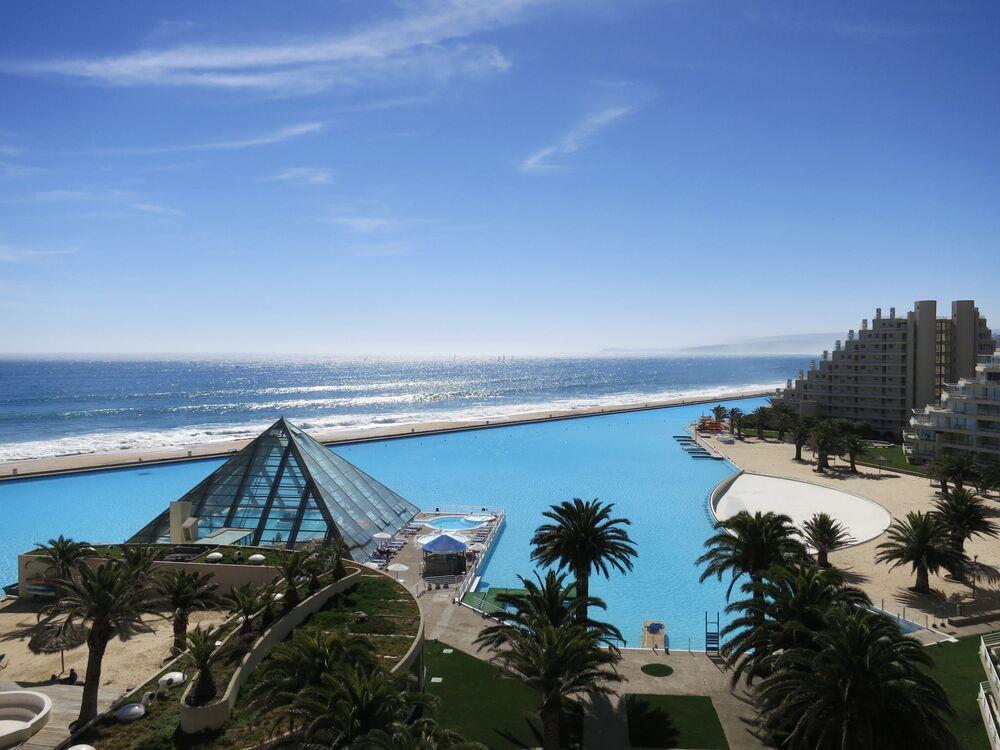 Największy na świecie basen, Chile